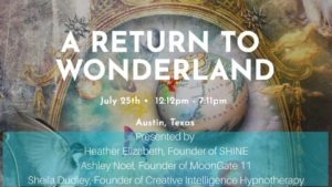 Event graphic for A Return to Wonderland