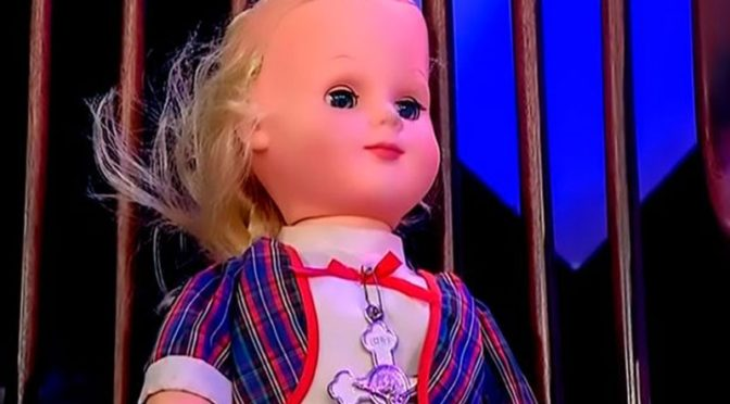 Photo of haunted doll