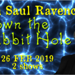 Join Saul Ravencraft live, 26 FEB 2019