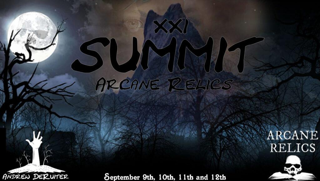 Saul presents at Arcane Relics Summit 2021